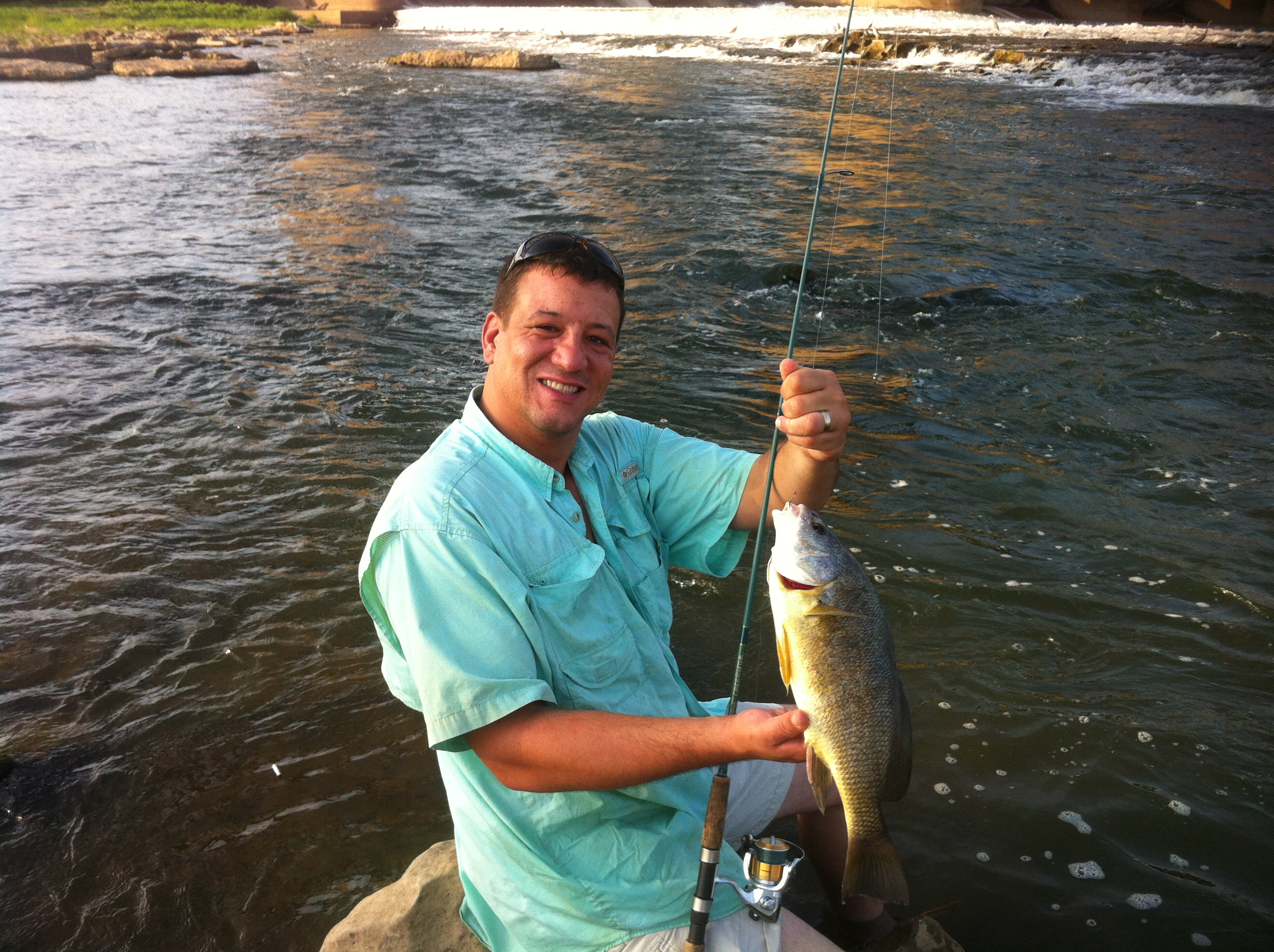 Falls of the ohio fishing bucket list fishing for Fishing in louisville ky
